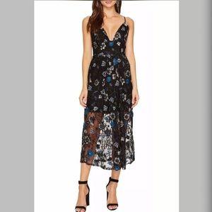For love and lemons botanical midi dress